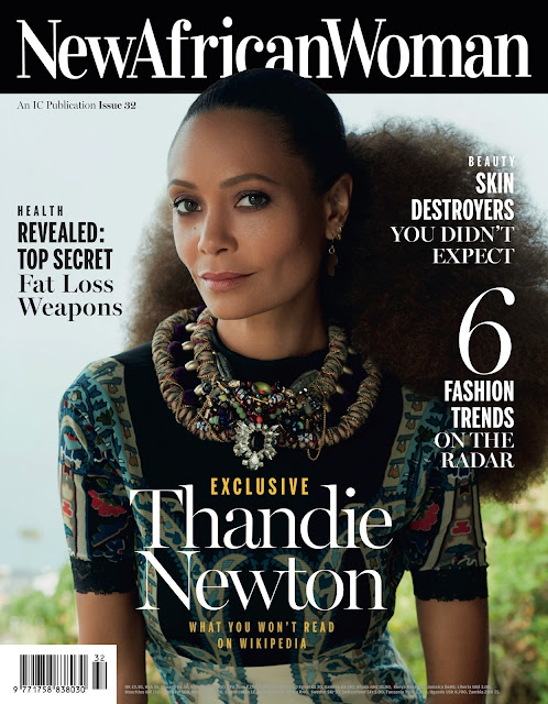 Actress @ Thandie Newton - NewAfricanWoman August 2015