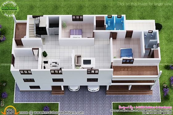 Second floor isometric view