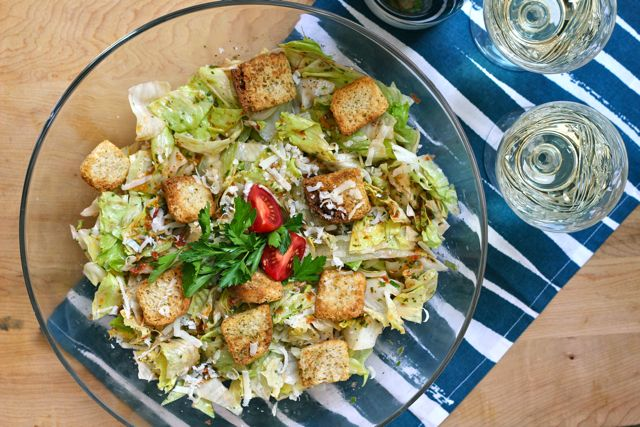 Your Southern Peach: Masters Party: Green Jacket Salad
