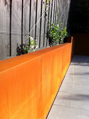Lump Corten Steel Cladding