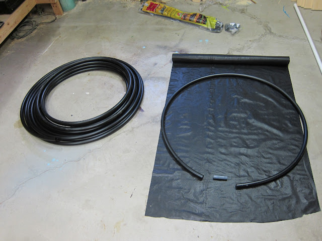how to make cheap pool heater rings cover