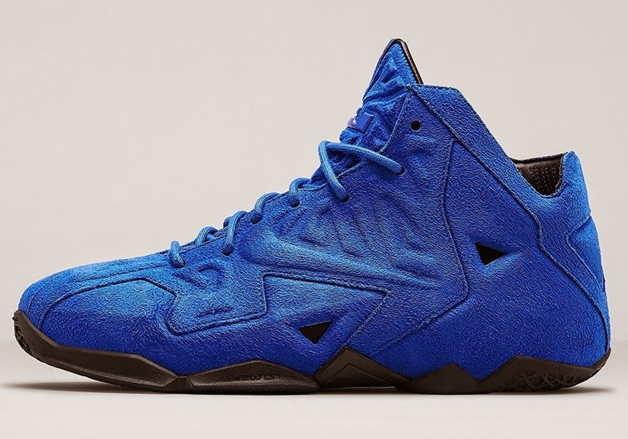 FollowTheKicks: Nike Lebron 11 Blue Suede Release Date