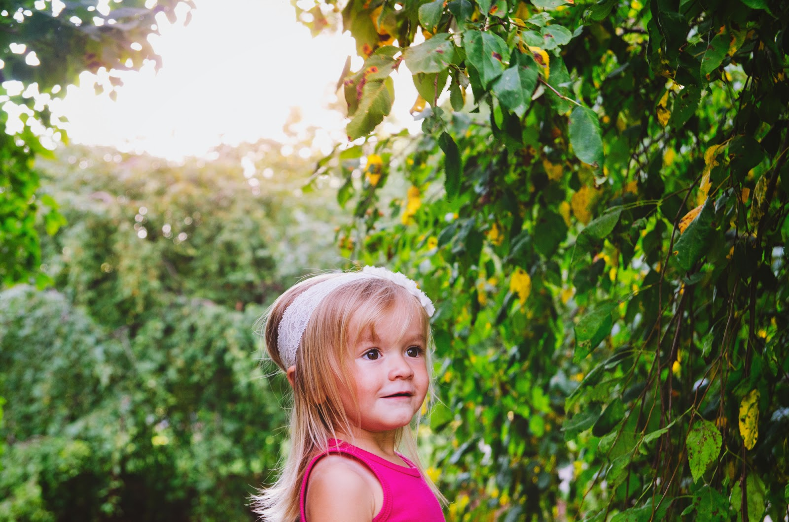 pretty boho toddler at indianapolis family photography session