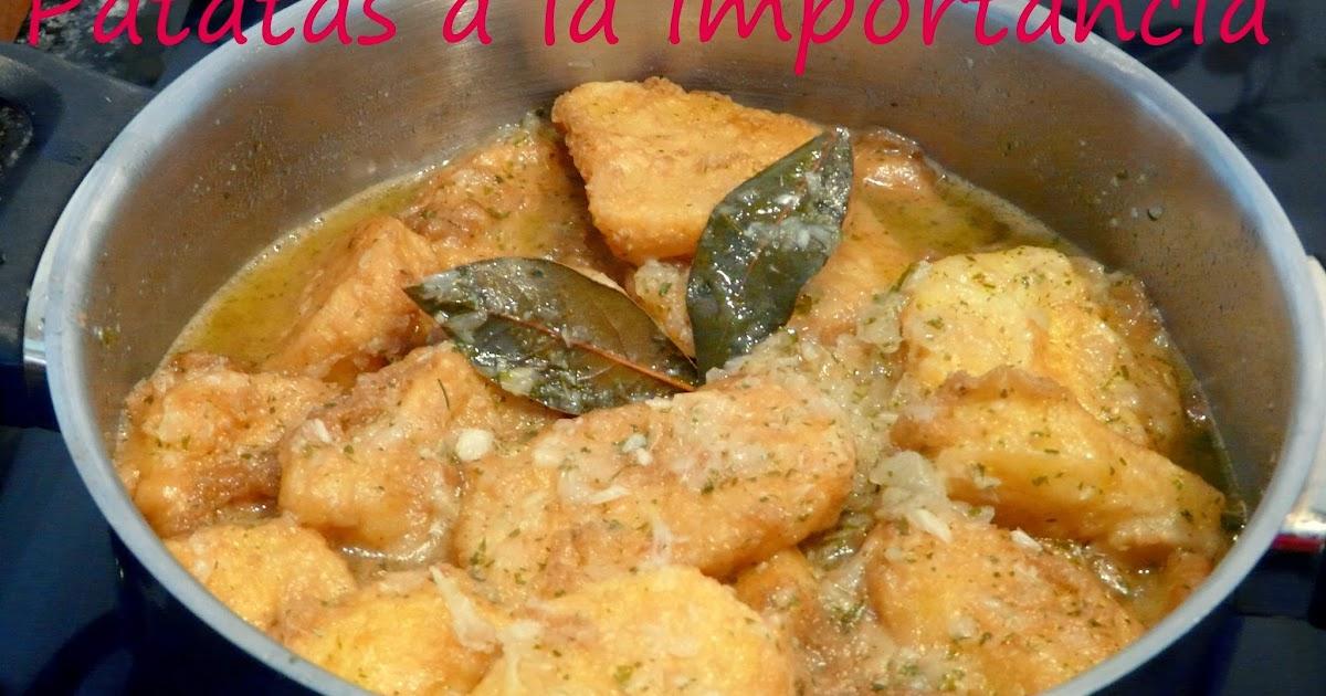 Cocinar con mycook patatas a la importancia for Cocinar con 5 ingredientes