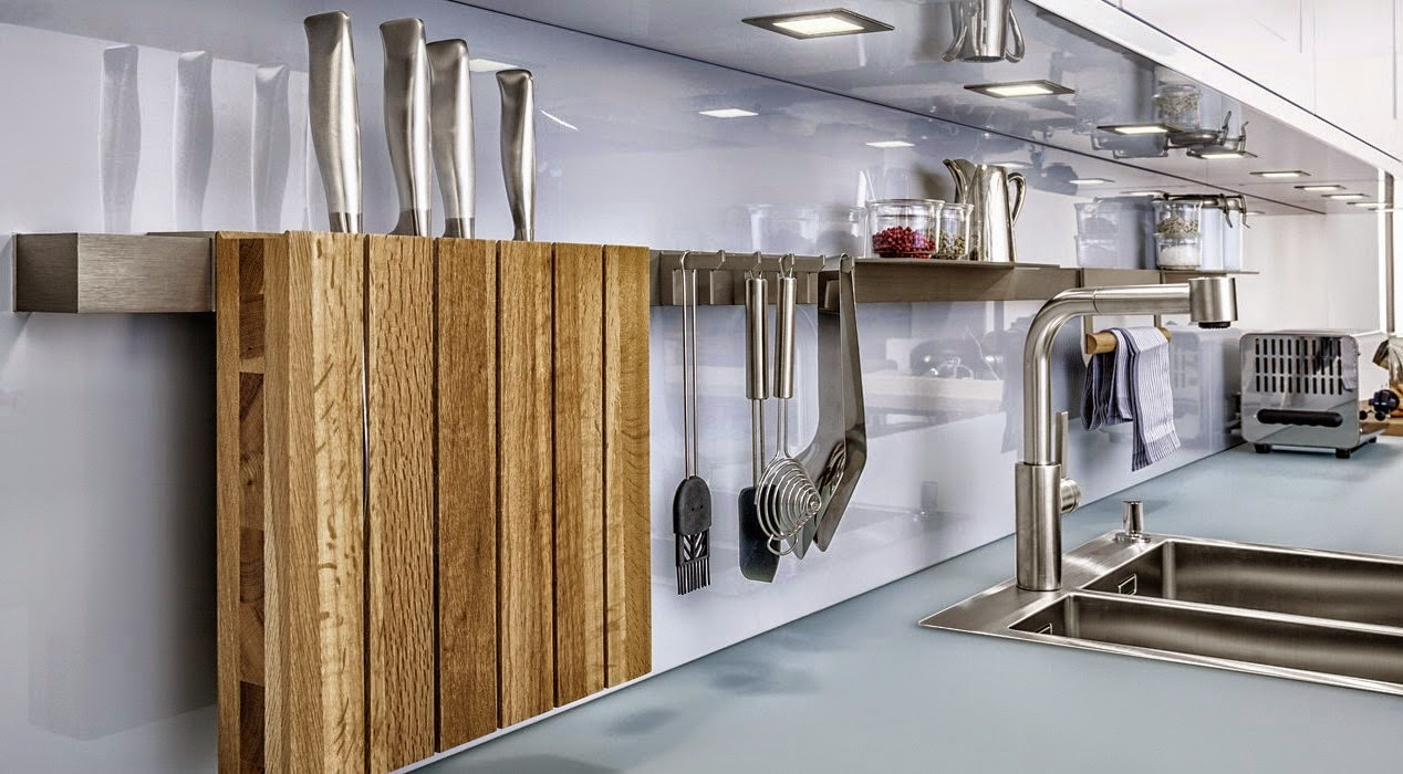 Accesorios de cocina para la pared para tener todo a mano for Cosina para todos