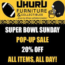Super Bowl Sunday Pop-Up Sale!