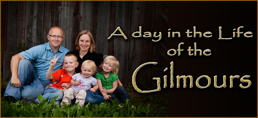 A day in the life of the Gilmours