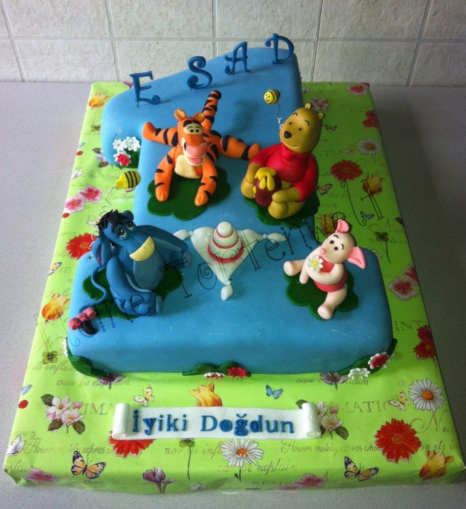 Meine Tortenwelt: Winnie Pooh Geburtstagstorte