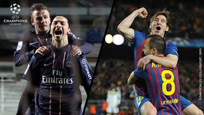 PSG - FC Barcelone: Composition d'équipes