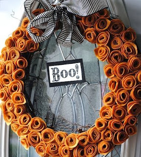 Halloween Decoration, Wreaths, part 1