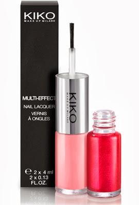 esmaltes de uñas de Kiko Multi Effect Nail Lacque