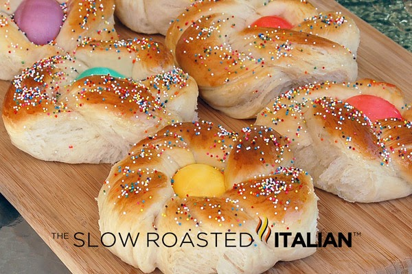 The Slow Roasted Italian - Printable Recipes: Italian Easter Bread