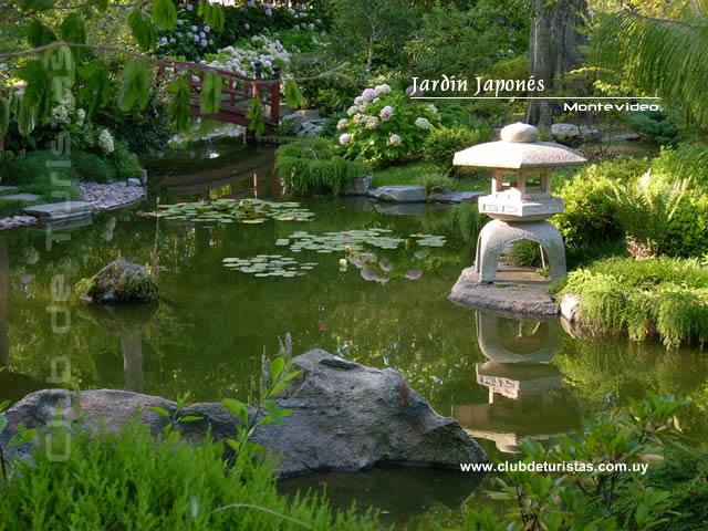 fotos jardins japoneses:Jardines verdes, de té o de piedra .