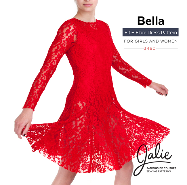 New Collection - The Bella Fit and Flare Dress
