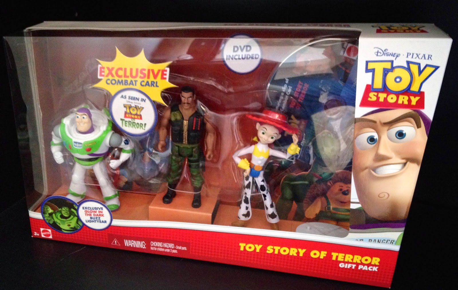 Toy story of terror 1 2 3 buzz lightyear of star command for sale - Toy Story Of Terror Figure 3 Pack Gift Pack Updated