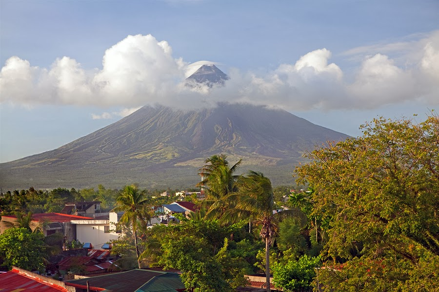 Mount Mayon Volcano in Bicol