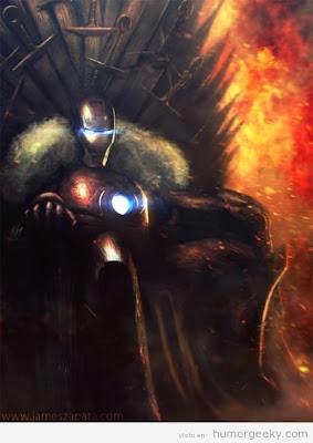 Ironman trono de hierro - Juego de Tronos en los siete reinos