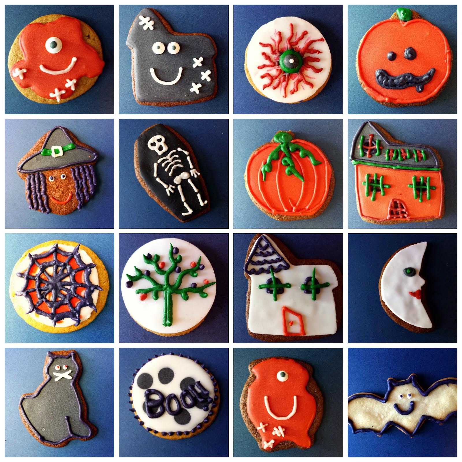 El fest n de marga decoraciones de galletas de halloween for Decoraciones infantiles para ninos
