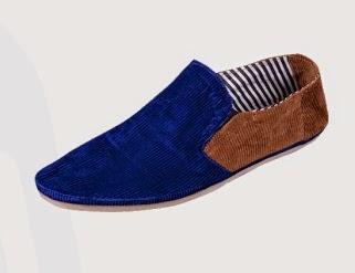 Jual Sepatu Pekanbaru Jungkie Two Tone Blue Brown