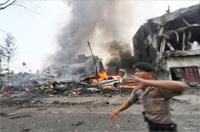 Thirty killed as Indonesian military plane crashes on Sumatra