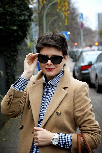Burberry Sonnenbrille, Xenia Metelski