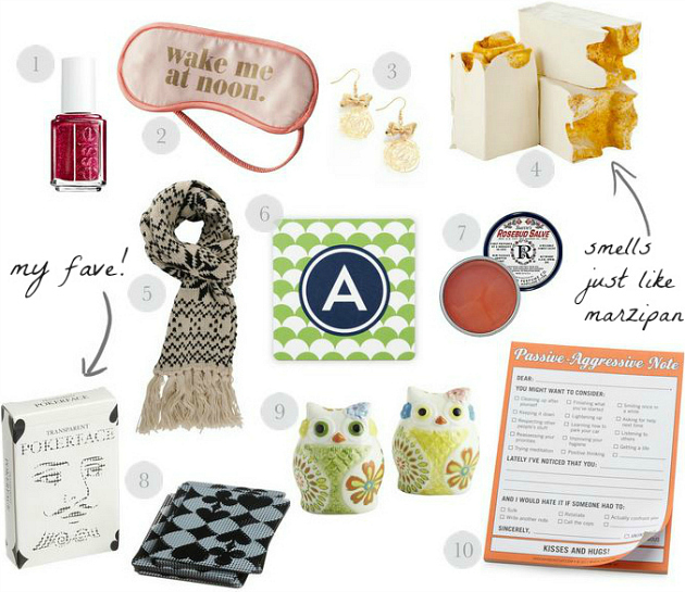 cute and inexpensive gifts