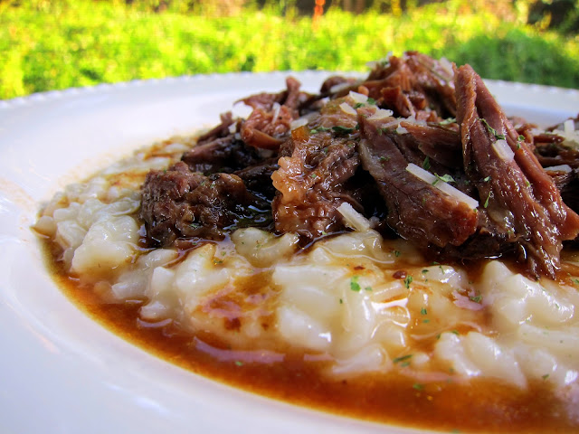 Italian Pot Roast & Parmesan Risotto