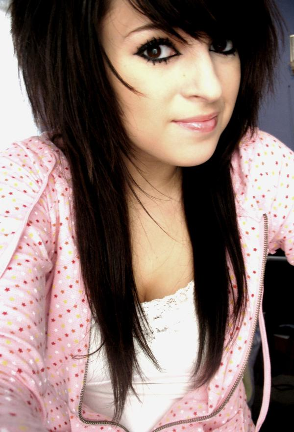 Emo Hairstyles for Girls with Black Hair