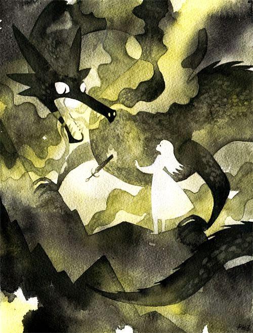 Pauliina Hannuniemi ilustrações singelas caricaturais contos de fadas