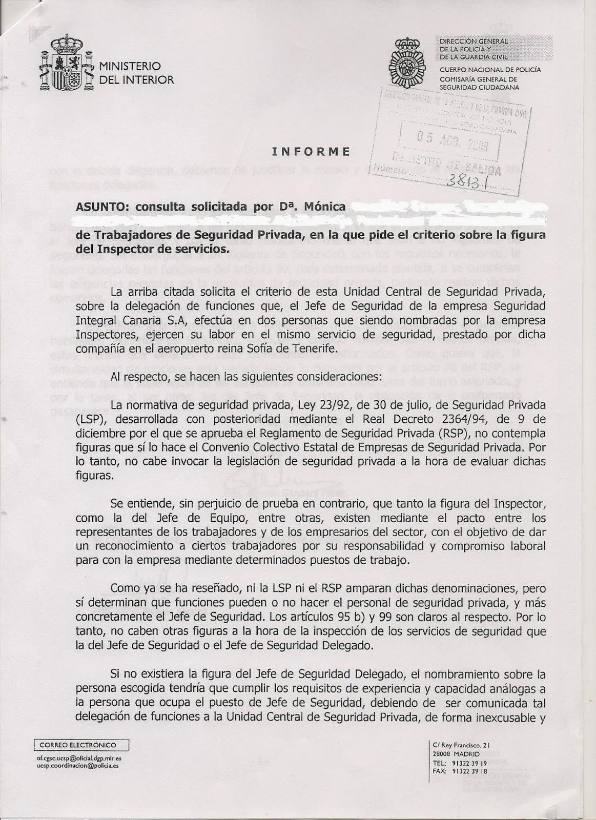 Comisiones obreras de vinsa barcelona ministerio del interior for Ministerio del interior correo electronico