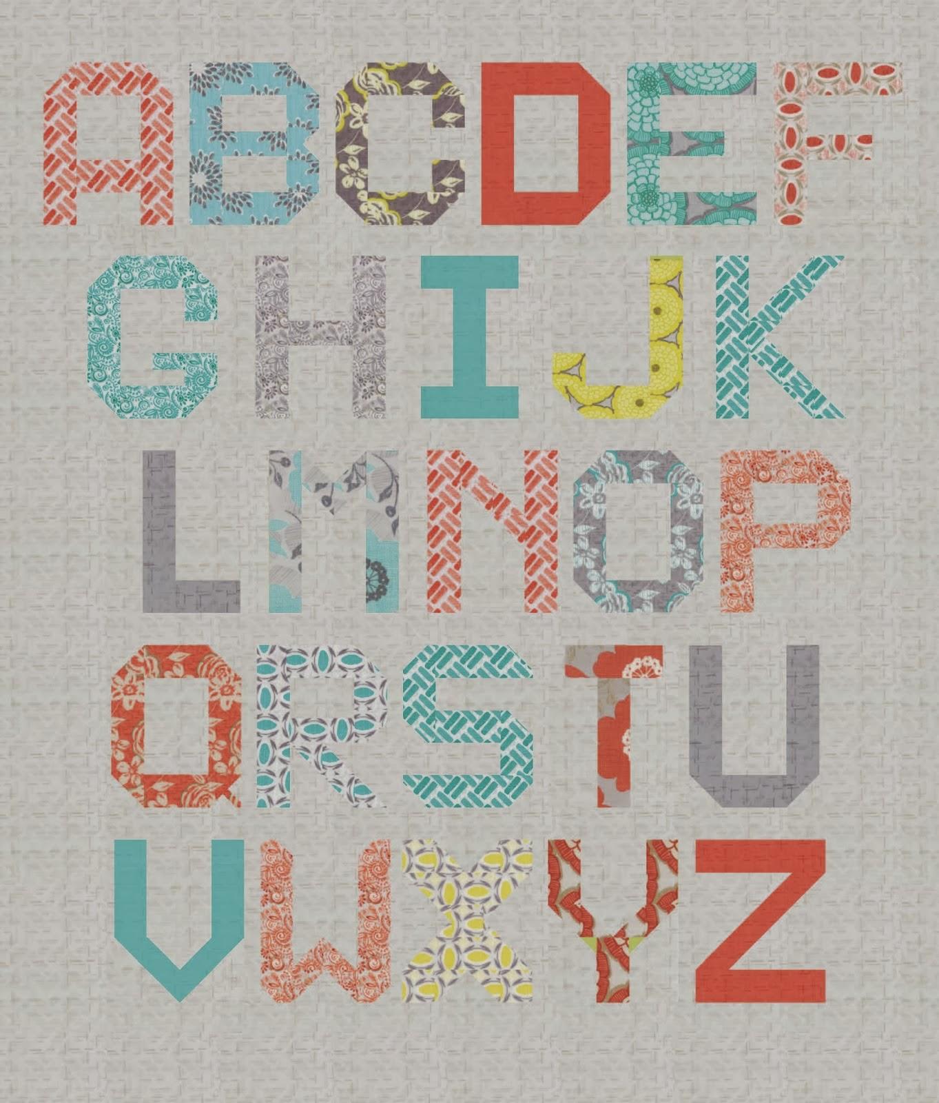 moda spell it with fabric, stephanie ryan