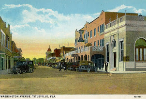 Downtown Titusville 1920s