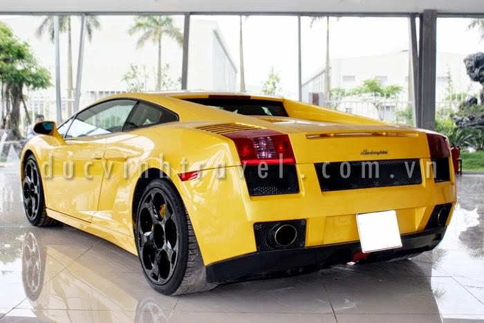 Cho thuê siêu xe Lamborghini Gallardo Vàng nổi bật 2