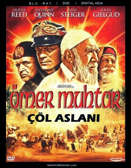 Çöl Aslanı Ömer Muhtar - Lion of the Desert (1981) 1080P 720P BRRiP FiLM iNDiR