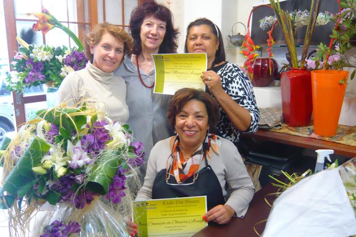 Workshop de Arte Floral Estilo Kado Dai Shizen com Prof Marcio Soares.