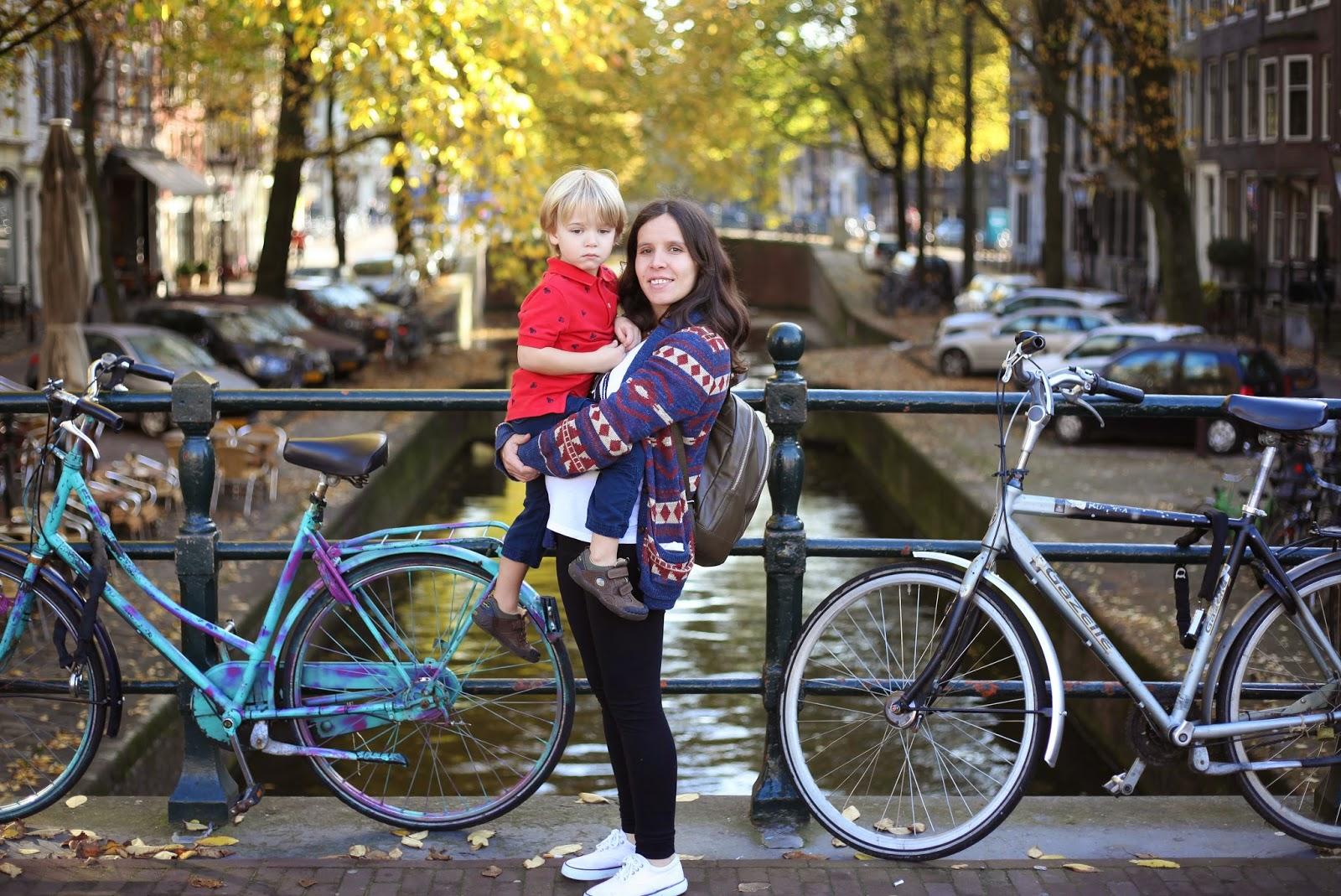 Family travel Amsterdam