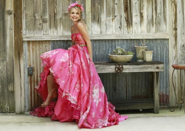 Sherri Hill Prom Dresses pink 5