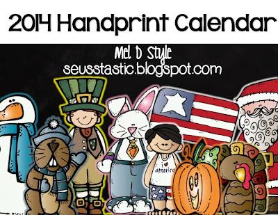 http://www.teacherspayteachers.com/Product/Handprint-Calendar-Gift-968614