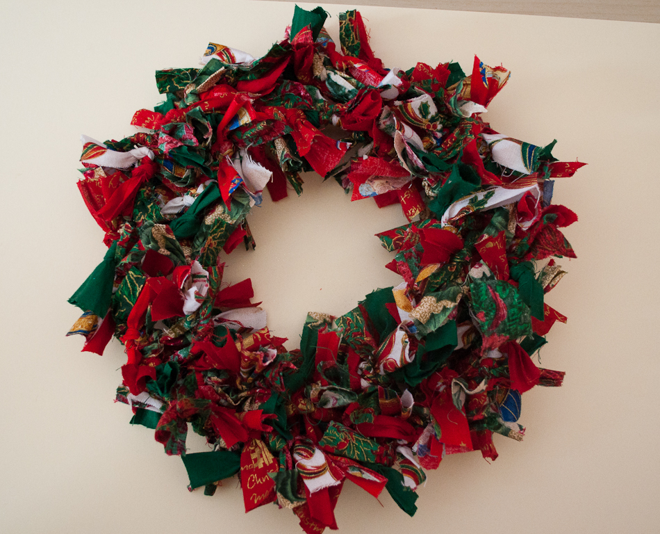 Norfolk Treasures Christmas Rag Wreaths
