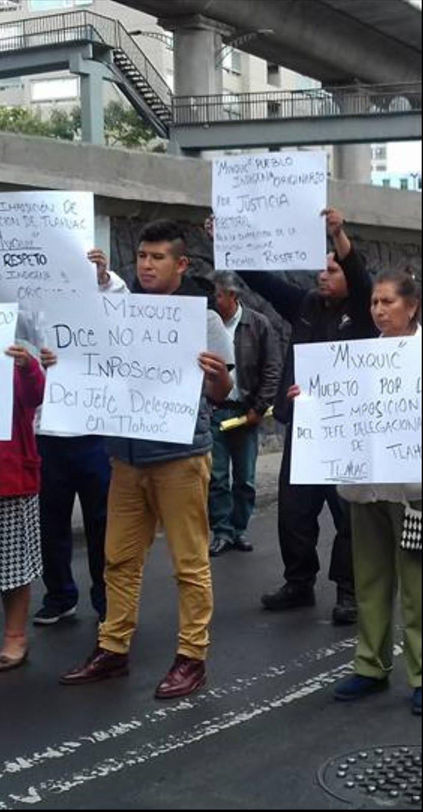 Delegados de Tláhuac y Xochimilco son un peligro para la paz pública