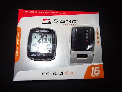 Sigma BC 16.12 STS bike computer