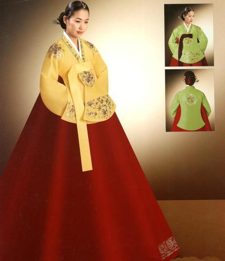 Hanbok coreano moda e filosofia haneulcorea for Vestito tradizionale giapponese femminile