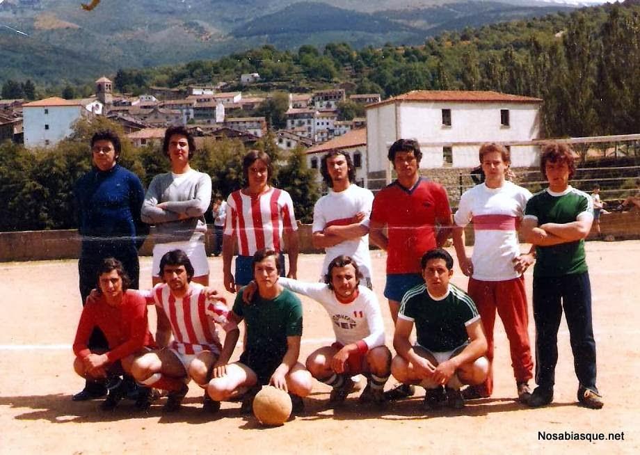 equipo de futbol de Candelario Salamanca años 70