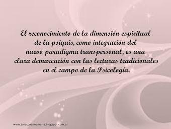 dimensión espiritual de la psiquis
