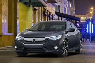2016 All New Honda Civic Power performance front view