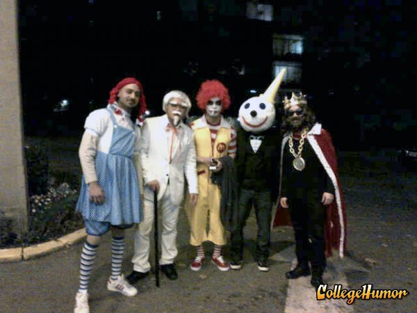 Fast Food Gang Halloween Costumes by College Humor