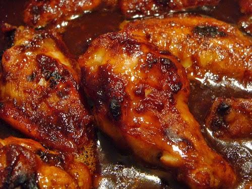 recette de poulet au miel