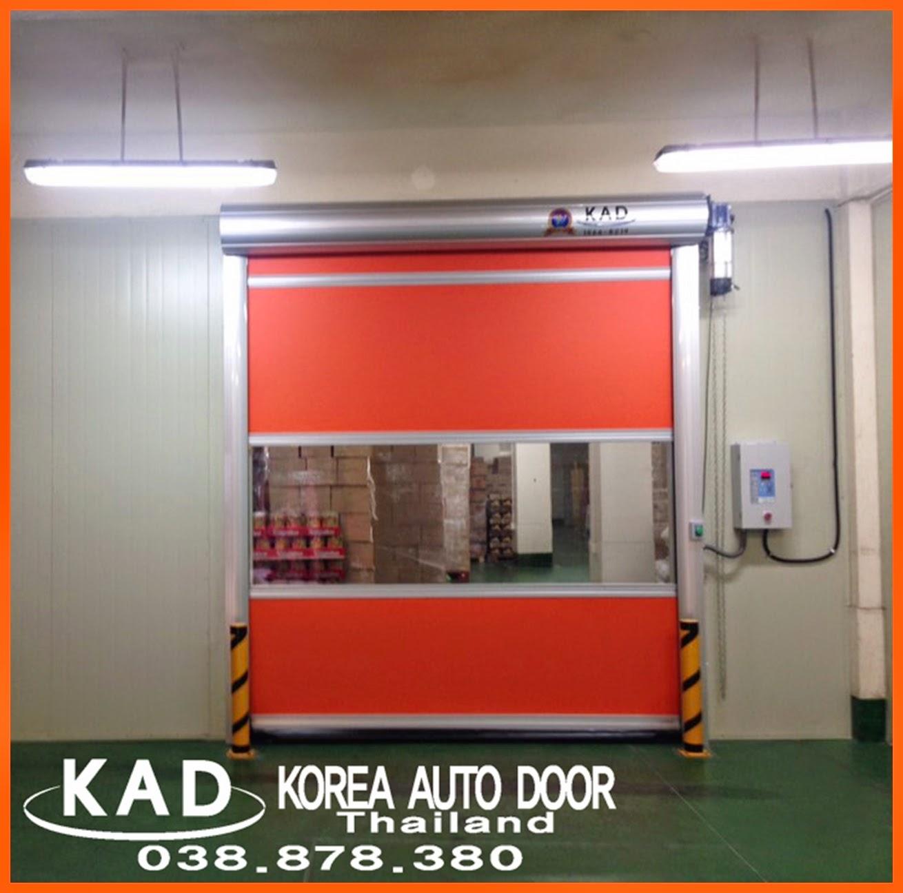 KAD high speed door install the high speed door inside