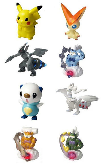 Pokemon Figure Happy Meal Set Dec 2011 McDonald's JP