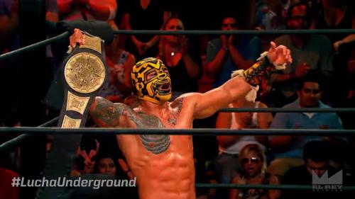 Lucha Underground championship Prince Puma